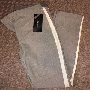 Zara basics- gray joggers waist pants